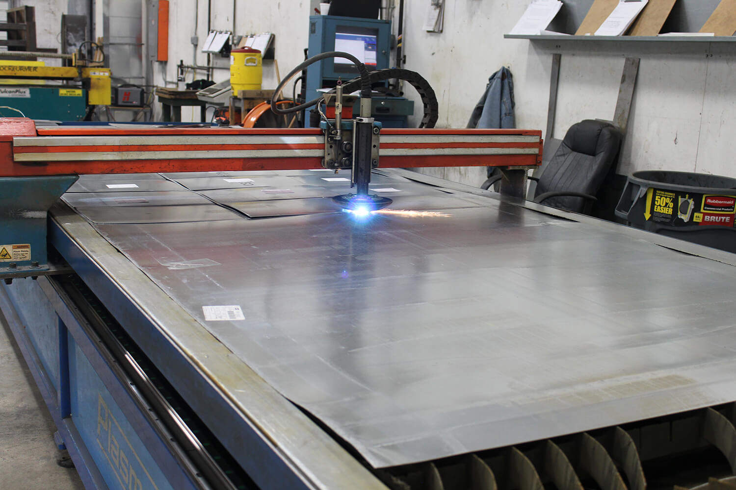 Custom HVAC sheet metal work
